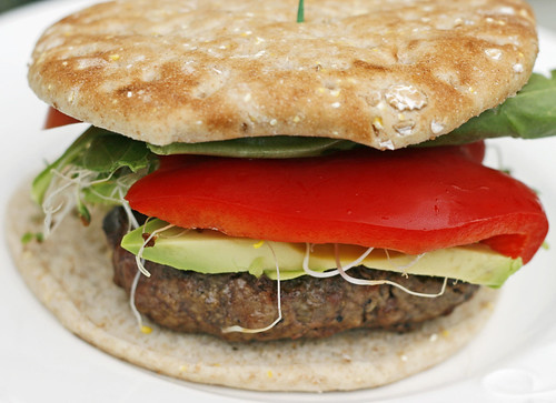 super veggie beef burger 3