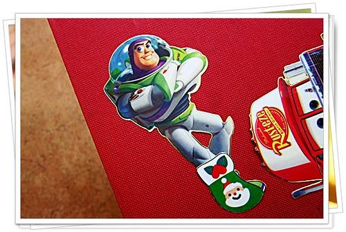 Timmy thinks Buzz should wear warmer socks.