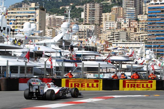 Kamui Kobayashi, BMW Sauber C30 Ferrari - Monaco F1