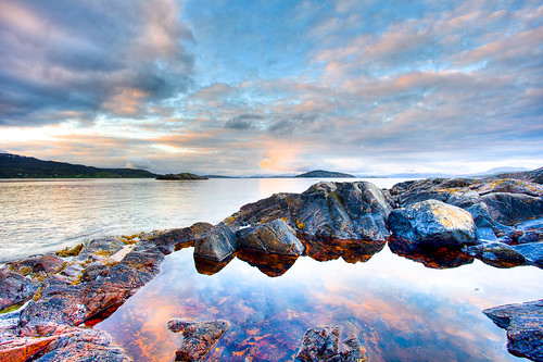 Nordnorsk maikveld by Oddne Rasmussen