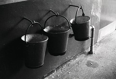 Guess Where Buckets (akki14) Tags: trix tubestation buckets rodinal guesswherelondon cockfosters negscan gwl finetta guessedbyrobbeersaysnewflickrsucks