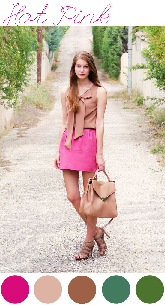 Pink inspiration, Zara People