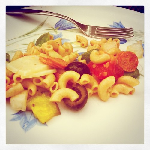 pure genius: pasta salad that tastes like an classic Maine Italian sandwich