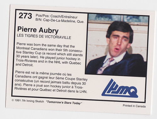 Coach - Pierre Aubry 91 Back