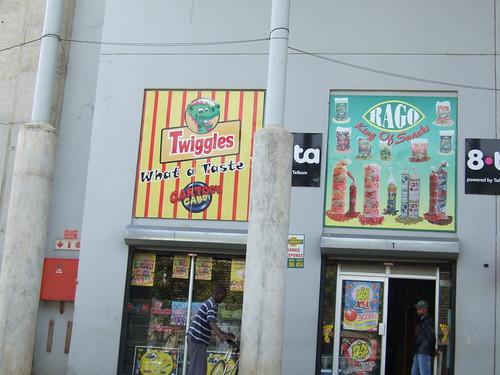 Twiggies Storefront in Soweto