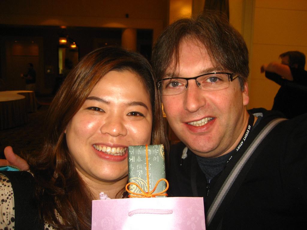Kim and me