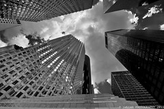 REACH FOR THE SKY (RUSSIANTEXAN) Tags: monochrome skyline architecture skyscraper nikon downtown texas houston russiantexan d700 anvarkhodzhaev svetanphotography