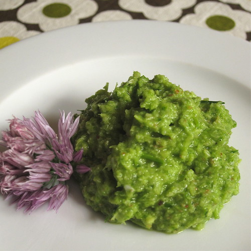 Green Garlic and Chive Pesto