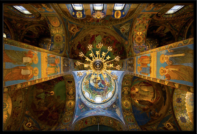 "Inside the ""Church of the Savior on Spilled Blood"""
