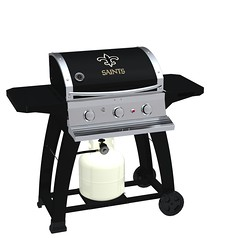 New Orleans Saints TailGating Grill / BBQ