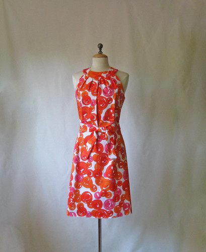 Miami dress front with belt