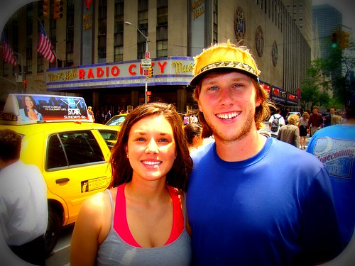 Me & Mike in front of Radio City!