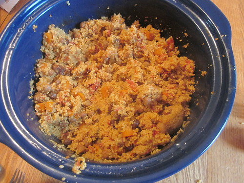 Finished couscous
