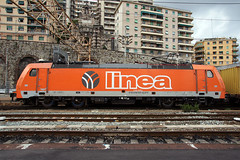 Linea E186 909LI (Maurizio Boi) Tags: railroad italy train rail railway locomotive treno ferrovia locomotiva libea e186