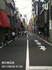 朝散歩(2011/6/30)