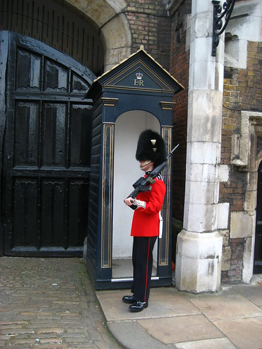 Guardsman by St James's Palace