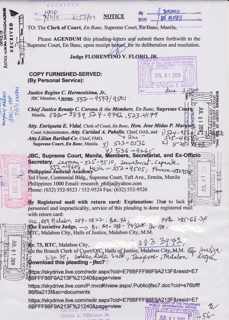 The Reinstatement of Filipino Dwarf Judge Florentino Floro: 4th ...