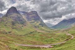 Glencoe-Landscape (Ray Devlin) Tags: glencoe glen coe scottish highlands landscape mountain scotland nikon d800 bidean nam three sisters bian