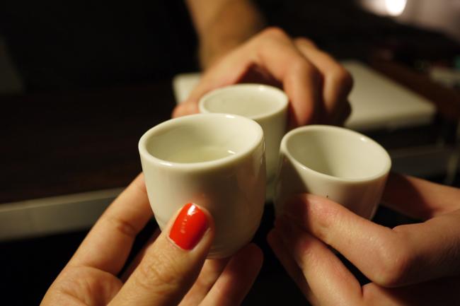 sake cheers