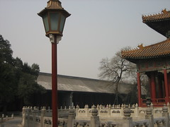 Picture 1046 (dowdyle) Tags: china building college temple hall beijing lamppost imperial confucius moat biyong