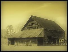 Barn #172B (Cliff Michaels) Tags: portrait barn photoshop nikon tennessee blountcounty d5000 pse9