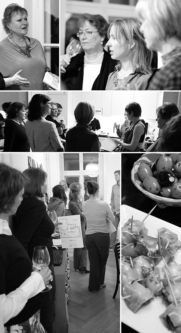 Design, Wine and Nibbles Event with Expat Kochen in Basel, Switzerland