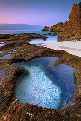 Stillness (tropicaLiving - Jessy Eykendorp) Tags: light bali seascape beach nature canon indonesia landscape lee uluwatu filters 1022mm canoneos50d suluban