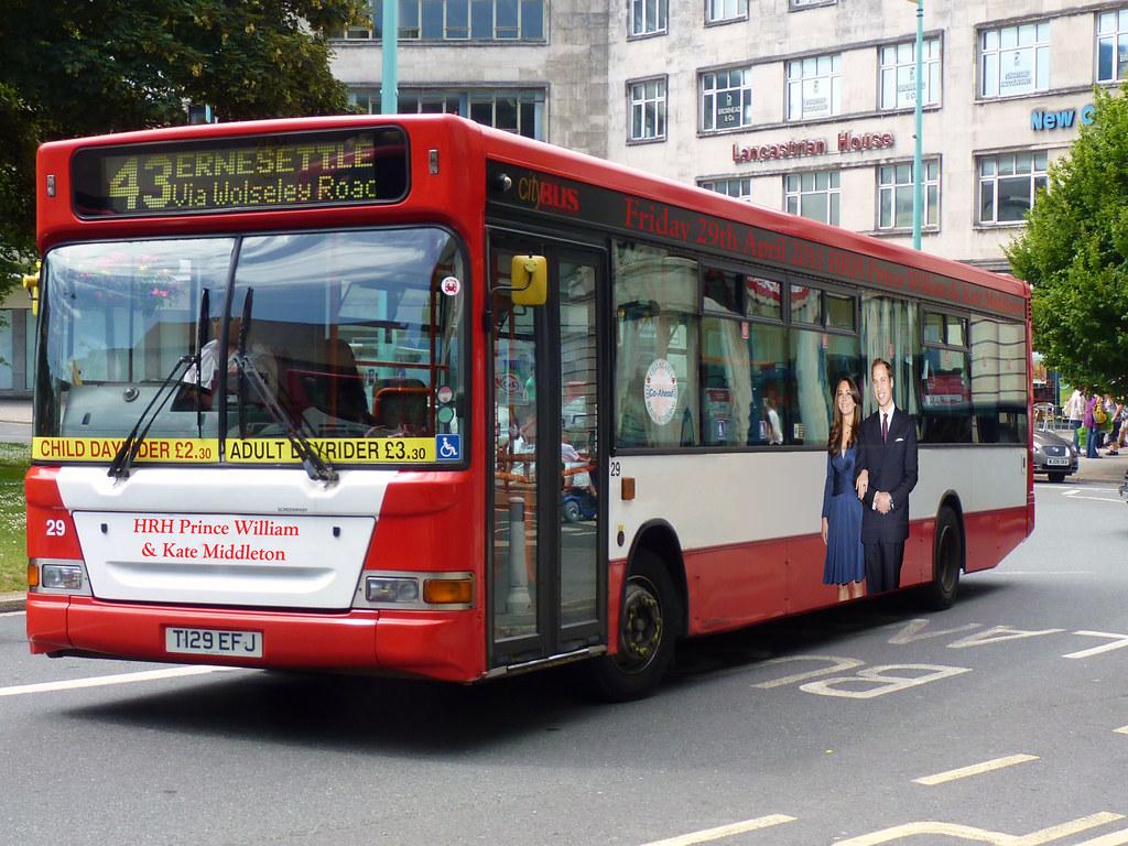 Plymouth Citybus 029 T129EFJ