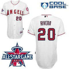Los Angeles Angels of Anaheim #20 Juan Rivera White Home Cool Base 2010 All Star Patch Jersey (Terasa2008) Tags: jersey losangelesangels  cheapjerseyswholesale cheapmlbjerseys mlbjerseysfromchina mlbjerseysforsale cheaplosangelesangelsjerseys