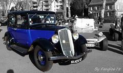 Renault Monaquatre (fangio678) Tags: classic cars noir voiture renault collection strasbourg coche oldtimer blanc couleur ancienne pmc youngtimer monaquatre retrorencard
