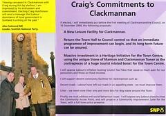 SNP Local Council by-election leaflet, 2004 (Scottish Political Archive) Tags: party scotland scottish national publicity campaign hutchinson byelection snp clackmannan