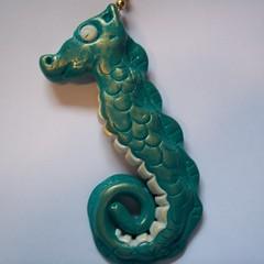 Seahorse Fan pull