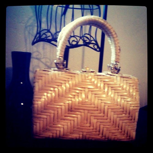 And one of the vintage bags I snagged!