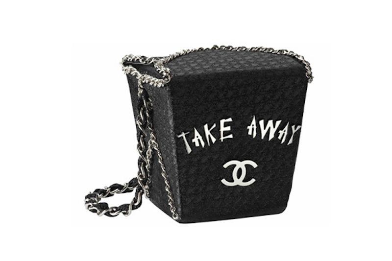 chanel take away bag chain