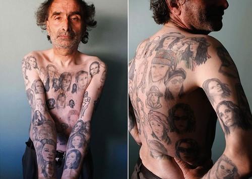chilean man boasts 82 tattoos of julia roberts