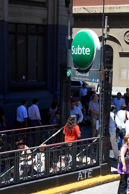 Estação do Subte Buenos Aires