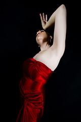 Brynn (austinspace) Tags: portrait woman canon studio washington spokane dress wideangle 1022mm alienbees