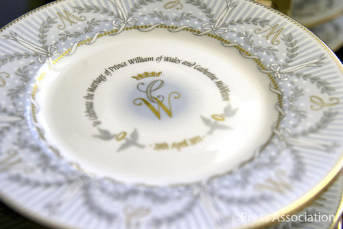The official Royal Wedding Commemorative China