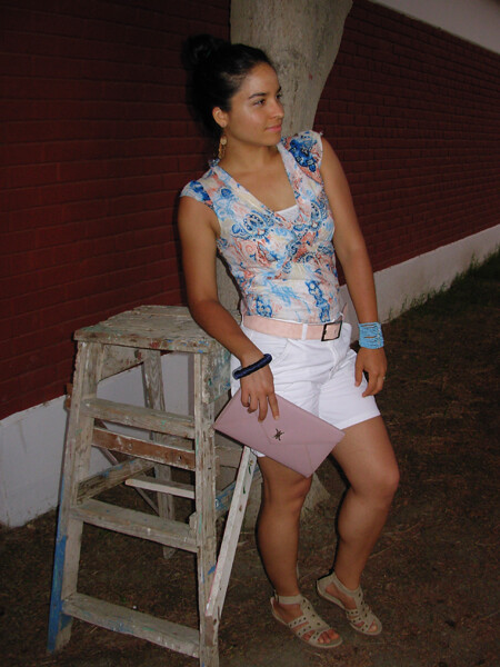 Watercolor Pattern, Summer Outfit