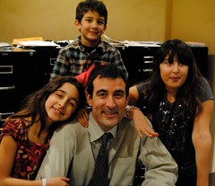 Image of Ed Shadid and children