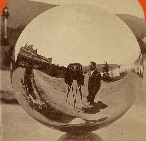 G.S. Irish, Photographer - Reflection in a Gazing Ball