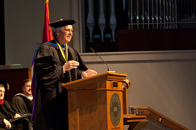 Distinguished Professors Convocation