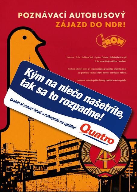 Quatro - Retro poster - NDR