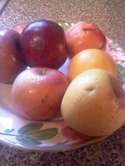 Re-purposed Apples for Toddlers or Adults