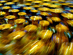 Swirling cloisonn vases (L F Ramos-Reyes) Tags: china focus slow beijing highlights swirl cloisonn colorphotoaward lionfrr theauthorsplaza mygearandme