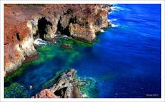 De espaldas al cielo (Imati) Tags: mar ibiza verano hombre buceo acantilados