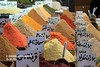 Spices in Syria market.
