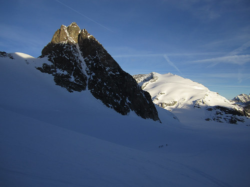 Glacier du Mt Collon