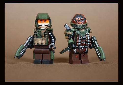Custom minifig UNSC Warfare