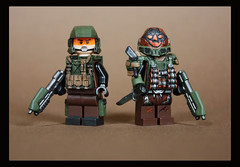 UNSC Warfare (Geoshift) Tags: marine lego halo spartan unsc customminifig haloreach legocustomminifig amazingarmory unitedarmory